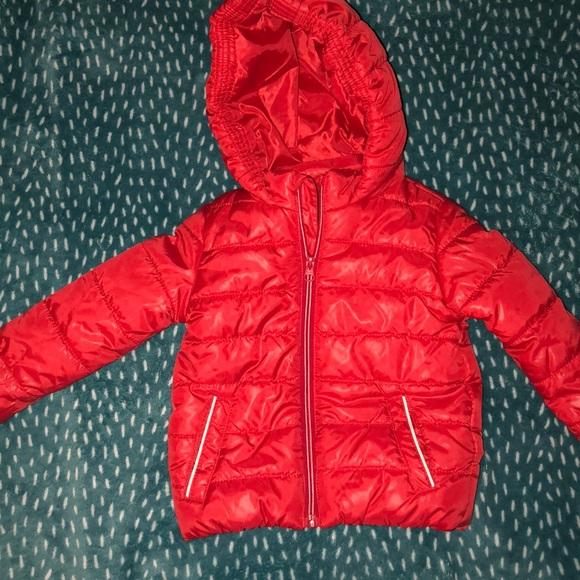 d7c8c206f2203 Primark 12-18M Red puffy jacket. M_5be3c3f6194dad4af1b538fc